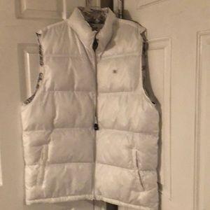 SOUTH POLE white puffy ski vest (reversible)